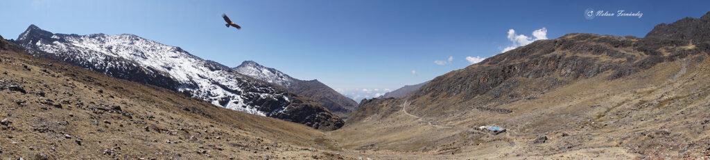 Panorámica caminos del Inca