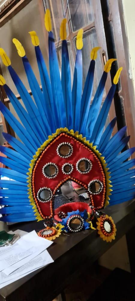 Artistas transforman tela en plumajes de machetero para evitar la extinción de la Paraba – ANA Bolivia